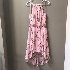 Dresses & Skirts - White House black market floral hi-low dress